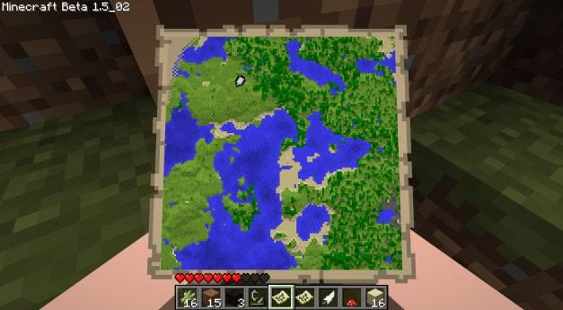 карты на minecraft