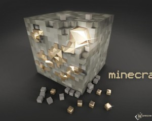 Блок золота Minecraft