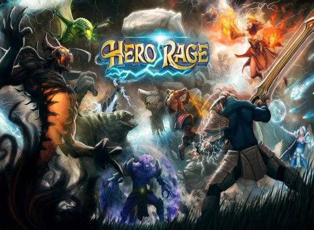 Hero Rage играть онлайн