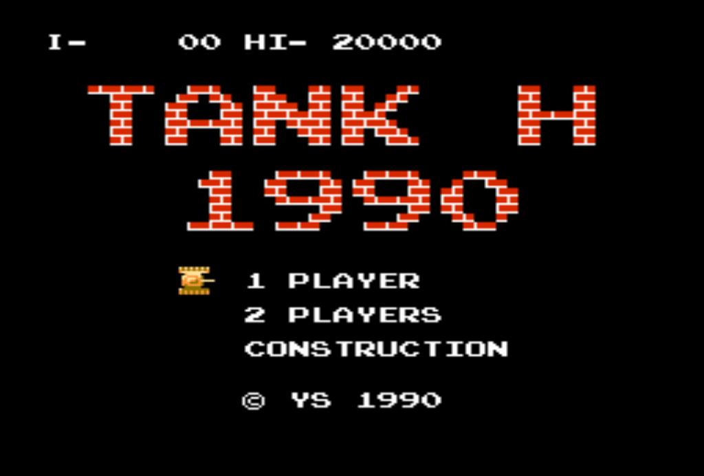 Танчики денди 1990 скачать ROM NES